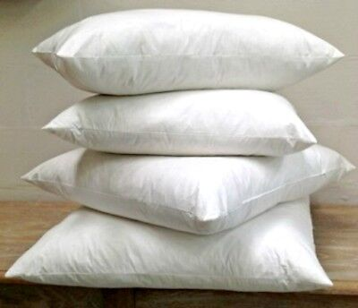 Extra Filled Duck Feather Cushion Inner Pads Insert Fillers Handmade Top Quality