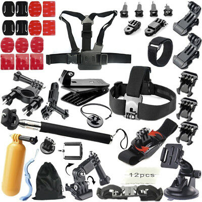 51 in 1 Floating Bobber Monopod Hand Head Chest Strap Adapter Mounts Accessories
