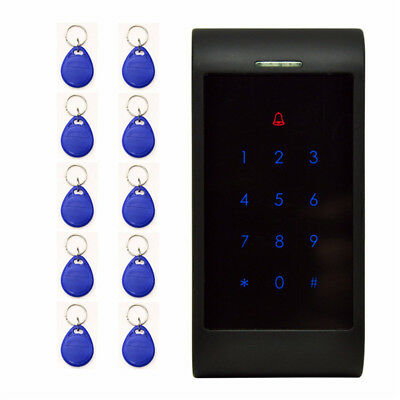 X8-ID 125KHz One Door Access Control System Machine Electric Strike Lock 10 ID C