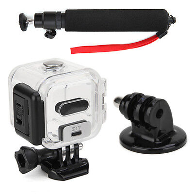 Protetive 45mm Waterproof Housing Case and Selfie Stick Monopod and Tripod Mount