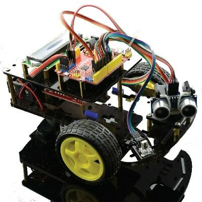 Ultrasonic Ranging Car Smart Car Kit For Arduino