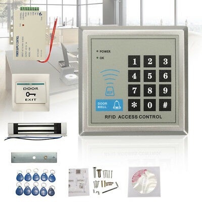 Electric RFID Access Control ID Password Safty Entry System Door Lock Magnetic S