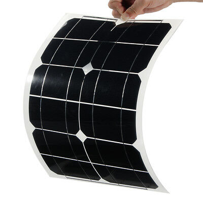 20W 5V Elfeland Semi Flexible Sun Power Solar Panel USB Interface For Smartphone
