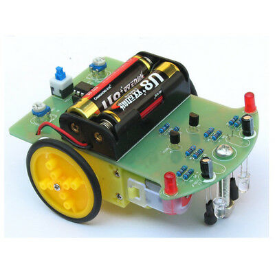 10PCS Tracking Robot Car Electronic DIY Kit With Reduction Motor