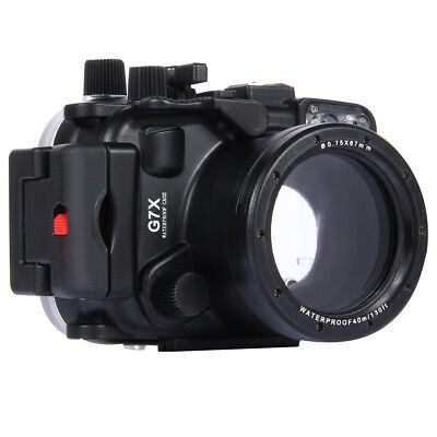 PULUZ PU7007 40m Waterproof Under Water Swimming Diving Camera Housing Case for