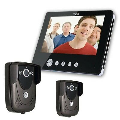 SY905FC21 Video Door Phone Doorbell Intercom Kit 900TVL IR Night Vision 2-Camera