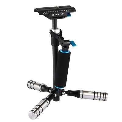 PULUZ P40T Three Axis Carbon Fiber DSLR Handheld Stabilizer Camera Shock Absorbe