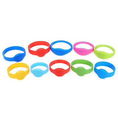 500 Pcs 125KHz RFID Wristbands Color Size Style Optional Collocation