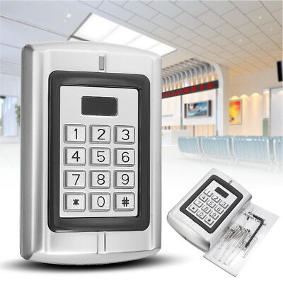 BC-2000 Password Keypad RFID Card Reader Entry Door Lock Access Control Security