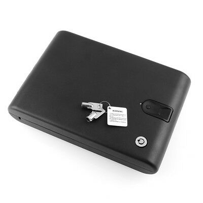 Portable Fingerprint Biometric Lock Case Valuable Jewelry Safe Box with Security