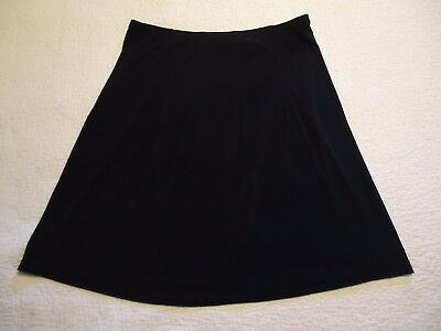 New Additions Maternity Womens L Beautiful Black Skirt