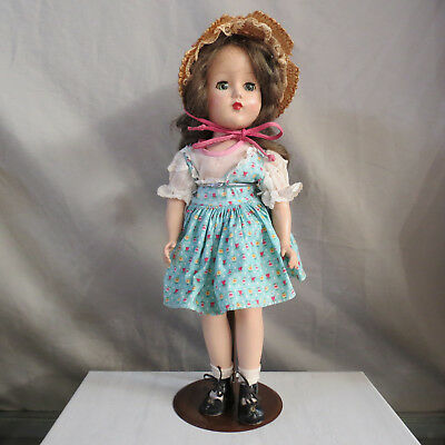 Arranbee Walker Doll early 1950's 14 inch original clothing gorgeous