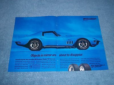 1994 BFGoodrich Radial T/A Tires Vintage Ad with 1969 Corvette Stingray