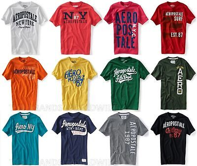 Aeropostale Mens T-Shirt Lot Of 100 You Choose Sizes Nwt Wholesale Resale Shirts