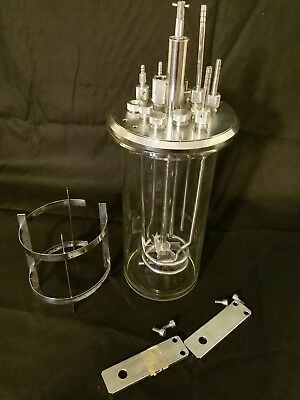 New Brunswick Scientific Fermentor Bioreactor eppendorf 3 Liters