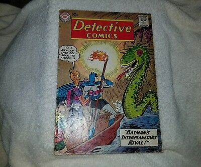 Detective Comics (1937 1st Series) #282 VG, cover detached bottom staple, Batman
