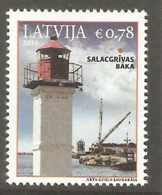 2015   Latvia  - Lighthouse -  Umm