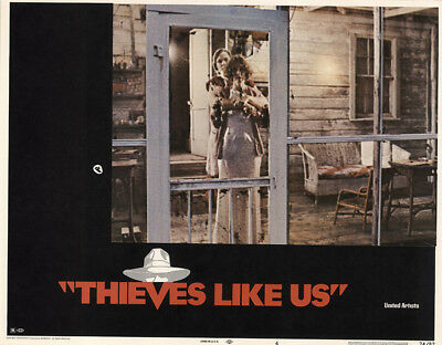 Thieves like Us 1974 11x14 Orig Lobby Card FFF-39796 Fine, Very Fine