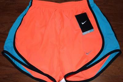 Nike Dri-Fit Tempo Womens Running Shorts Crimson Blue 624278 877 Size Xs Nwt New