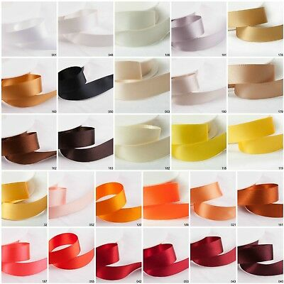 Cut 2 Metre SHINDO SATIN Ribbon - Oeko-Tex