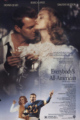 Everybody's All-American 1988 27x41 Orig Movie Poster FFF-60863 Fine, Very Good