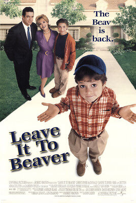 Leave It to Beaver 1997 27x41 Orig Movie Poster FFF-49709 Rolled Fine, Very Good
