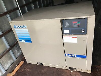 Air Compressor 50 H.P. Rotary Screw