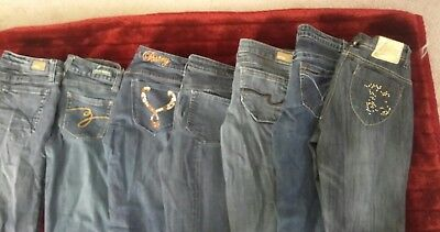 JUNIOR JEAN LOT 7 pairs sizes are 5,28,26 PRE-OWNED CONDITION 1JESSICA SIMPSON