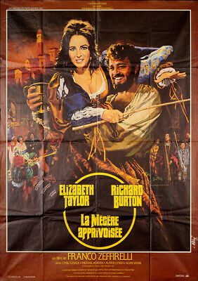 The Taming of the Shrew 1967 45.75x62 Orig Movie Poster FFF-50302