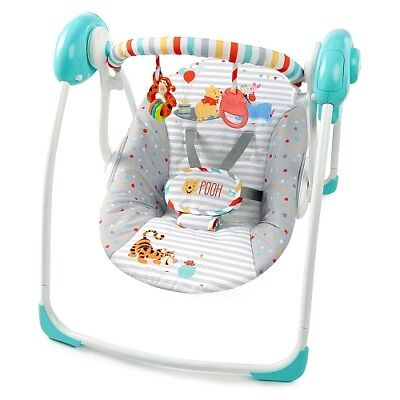 Bright Starts Safari Smiles Swing 6 consistent speeds even as baby gets older