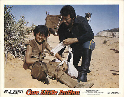 One Little Indian 1973 11x14 Orig Lobby Card FFF-41531 Fine James Garner