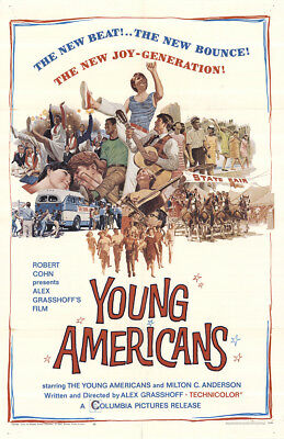 Young Americans 1967 27x41 Orig Movie Poster FFF-44978 Diane Adams U.S. One S...