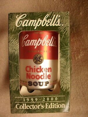 Campbell's Soup 1999-2000 Collector's Edition Ornament