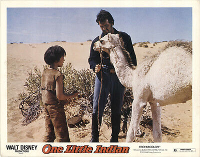 One Little Indian 1973 11x14 Orig Lobby Card FFF-40846 James Garner