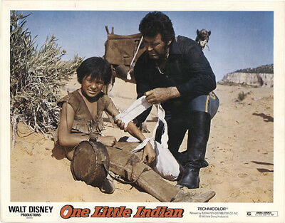 One Little Indian 1973 11x14 Orig Lobby Card FFF-40847 Fine, Very Good