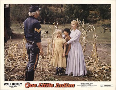 One Little Indian 1973 11x14 Orig Lobby Card FFF-40850 Fine, Very Good