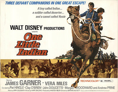 One Little Indian 1973 11x14 Orig Lobby Card FFF-40852 James Garner