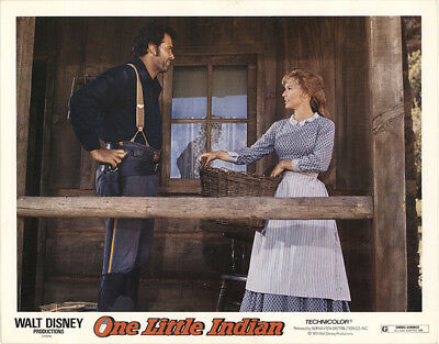 One Little Indian 1973 11x14 Orig Lobby Card FFF-40851 Fine, Very Good