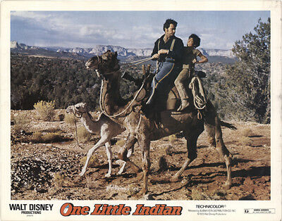 One Little Indian 1973 11x14 Orig Lobby Card FFF-40855 James Garner