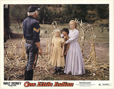 One Little Indian 1973 11x14 Orig Lobby Card FFF-40858 Fine James Garner