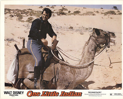 One Little Indian 1973 11x14 Orig Lobby Card FFF-40857 Fine James Garner
