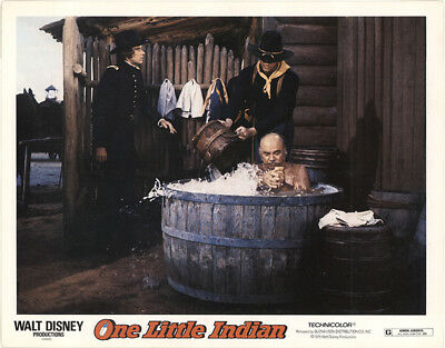 One Little Indian 1973 11x14 Orig Lobby Card FFF-40859 Fine James Garner