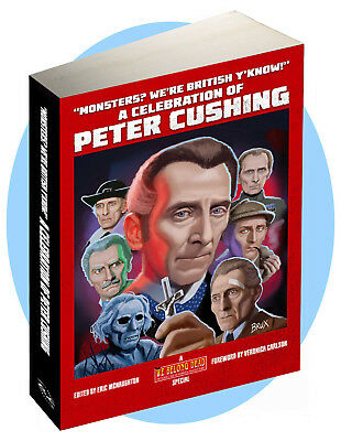 A Celebration of Peter Cushing: 300 page colour large format softback