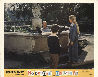 No Deposit, No Return 1976 11x14 Orig Lobby Card FFF-41049 Fine, Very Good Di...