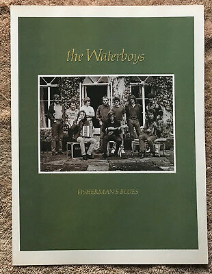 THE WATERBOYS - FISHERMAN'S BLUES 1988 full page UK magazine ad