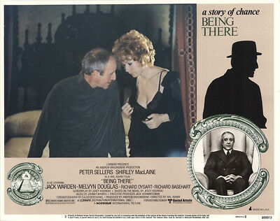 Being There 1979 11x14 Orig Lobby Card FFF-44225 Fine Shirley MacLaine
