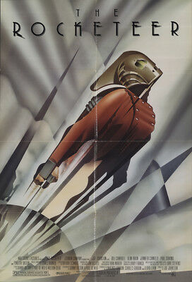 The Rocketeer 1991 27x41 Orig Movie Poster FFF-56627 Fine, Very Good Alan Arkin