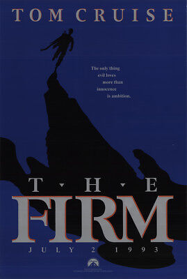 The Firm 1993 27x41 Orig Movie Poster FFF-47674 Rolled Fine, Very Good Tom Cr...