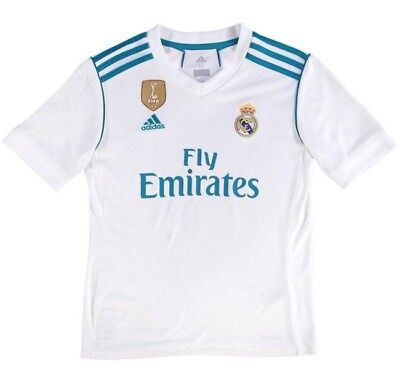 Adidas Real Madrid FC HOME Boys Kits Shirt Short 2017-18 Season RONALDO RAMOS
