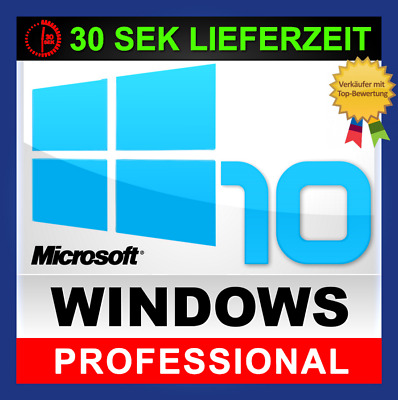 Microsoft Windows 10 Professional 32/64 Bit Multilanguage ESD Key und Download